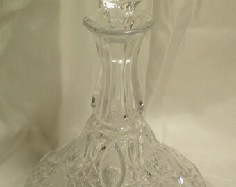 Crystal Decanter Bottle With Stopper