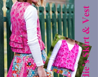 Sadie's Skirt & Top sizes 6, 7, and 8