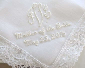 Wedding handkerchief, Wedding handkerchiefs, Wedding hankerchief, Wedding handkerchief, handkerchiefs, hankerchiefs, mother of the bride