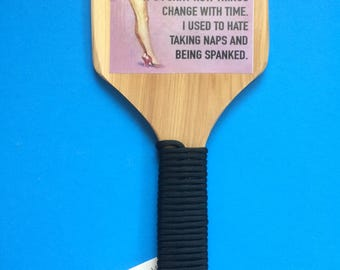 Pin Up Spanking Paddle - How things change