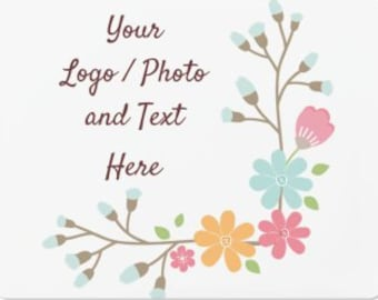 """9"""" x 12"""" Small Car Magnet Use Own LOGO or PHOTO Design Custom Personalized Quantities 1-40"""