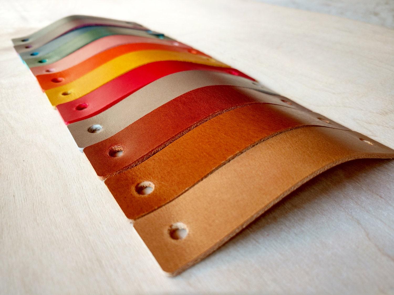 Leather Pulls / Handles Drawer Dresser Cabinets Door