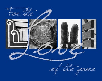 """Chicago Cubs """"For the Love of the Game"""" Photographic Print"""