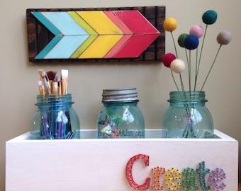 Stringart home decor box