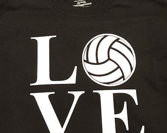 Love Volleyball Shirt/Hoodie