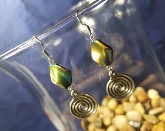 Swirl & Twist Earrings #GL3163