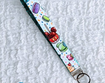 Fabric Keychain Lanyard