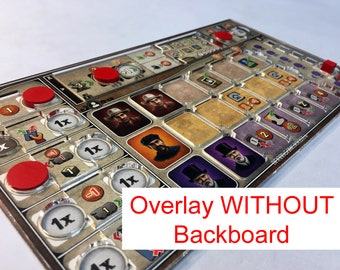 Great Western Trail Player Mat Overlay ONLY (no backboard)