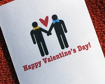 Gay Valentine Card