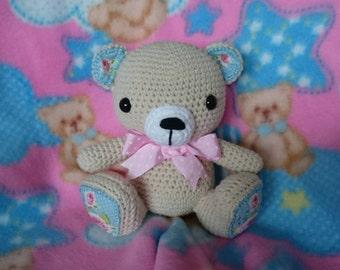 Beautiful crochet amigurumi bear