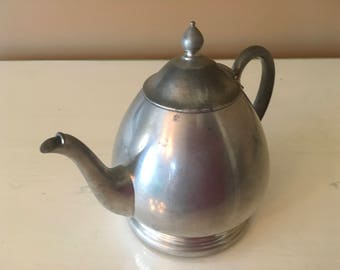 American Antique Pewter Teapot Patina Collectible Collections 1900-1909 decoration gift present