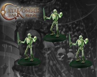 3 figurines morts-vivants : Revenants