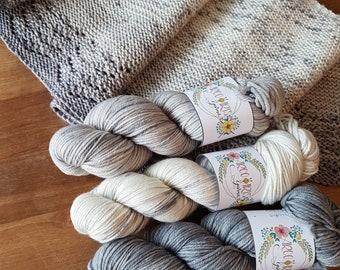 Jodi - DK Merino, silk, Stellina Kit - no pattern