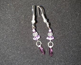 26. Delicate Dangling Earrings