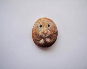 Hamster Worry Stone