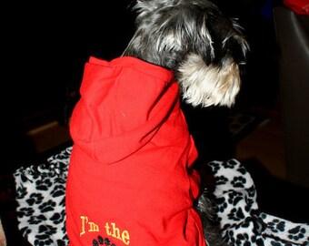 Custom Dog Hoodie Sweater Coat