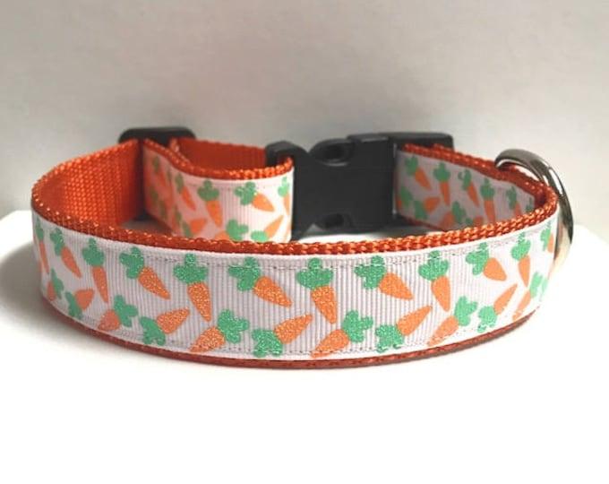 "1"" Glitter Carrots Collar"