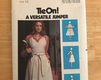 Apron Wrap Dress Pattern