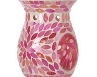 Pink/Purple Petal Wax Warmer / Oil Burner / Wax Burner / Burner / Ornament