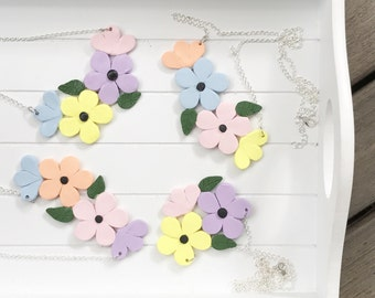 Pastel Garden collection (necklace)