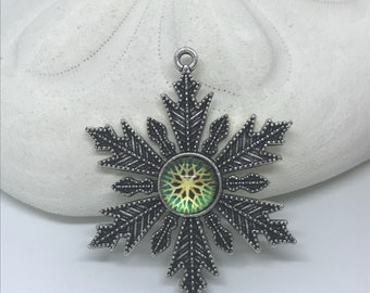 Snowflake necklace various