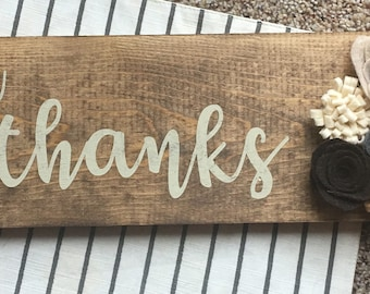 Rustic Home Decor Wood Sign