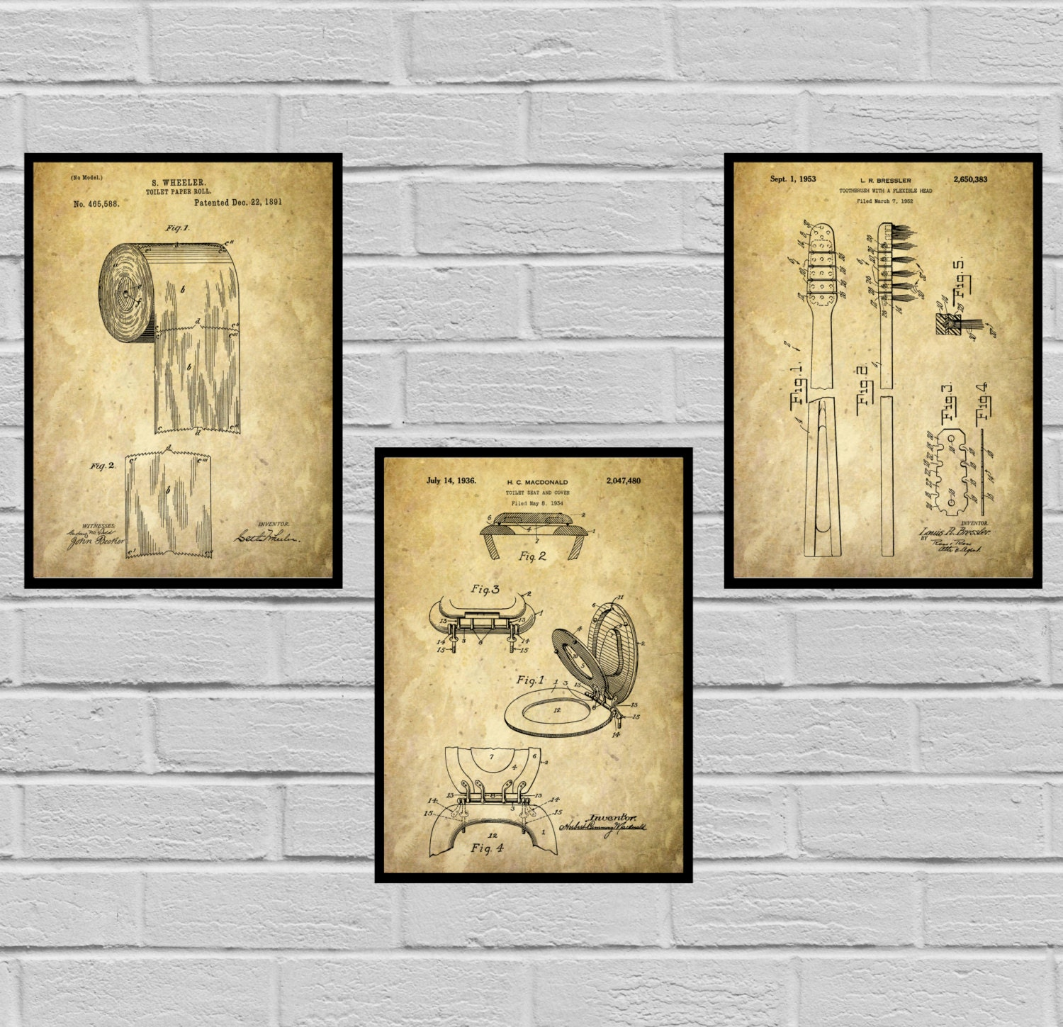 Bathroom Poster, Bathroom Art, Bathroom Decor, Bathroom Art, Toilet ...
