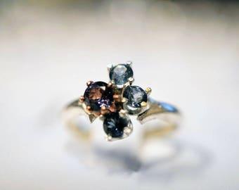 Beautiful Lavender Pink Montana sapphire ring