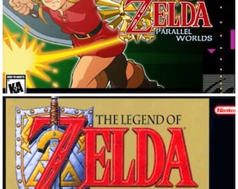 SNES Zelda | A Link to the Past | Parallel Worlds