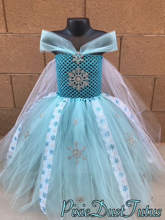 Elsa Tutu Dress