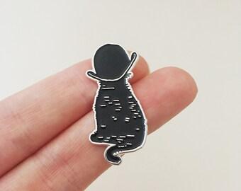 Billycock Cat Pin