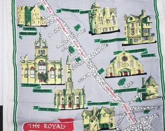 The Royal Mile Edinburgh Vintage Tea Towel