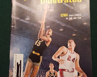Vintage Sports Illustrated - January 24,1965 - Iowa Challenges the Big 10