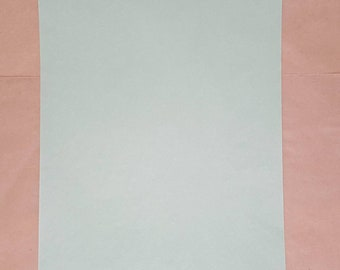 Onion skin paper, green, vintage, thin paper, stationery, translucent paper, tracing paper