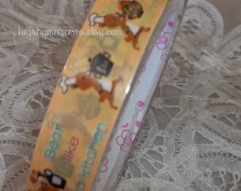 Deco Tape Kawaii Bear Chef 15m