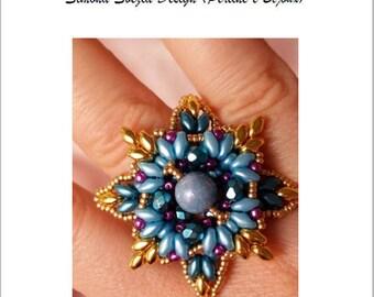 """TUTORIAL """"LEILA"""" ring / anello"""