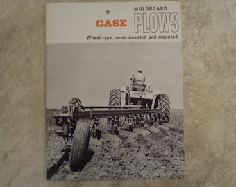 J.I. Case Moldboard Plow Literature