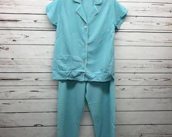 70's baby blue vintage womens pennys gaymode