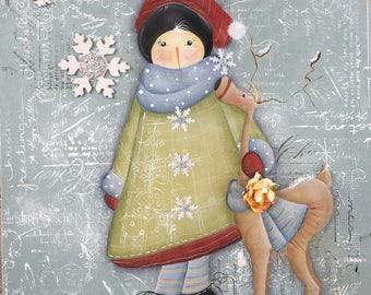 Snowflake Kisses and Reindeer Hugs