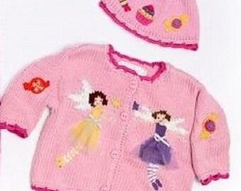 ArtWalk Candy Princess Fairies Sweater and Hat