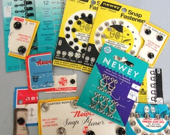 1960s to 1980s Vintage Fasteners Collection
