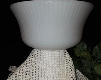 E.O. Brody Milk Glass Fruit Bowl -1960 - M6000