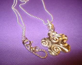 Fine Flower Power Necklace