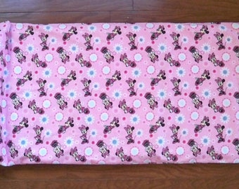 Minnie Mouse Nap Mat Cover with Attached Pillow Case