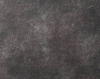 8x8 Da Vinci's Charcoal velvet by From the Caudlron