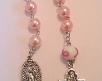 Breast Cancer Awareness Rosary Chaplet