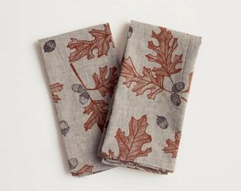 Organic Cotton Napkins - Oak & Acorn