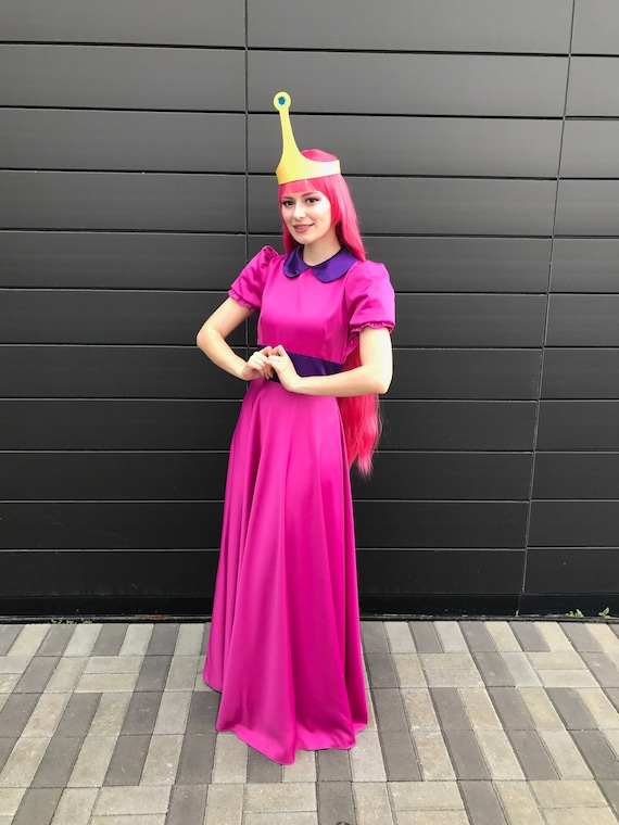 sc 1 st  Etsy & Princess Bubblegum Cosplay Dress Adventure Time Cartoon Party