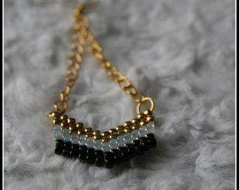 Chevron earrings