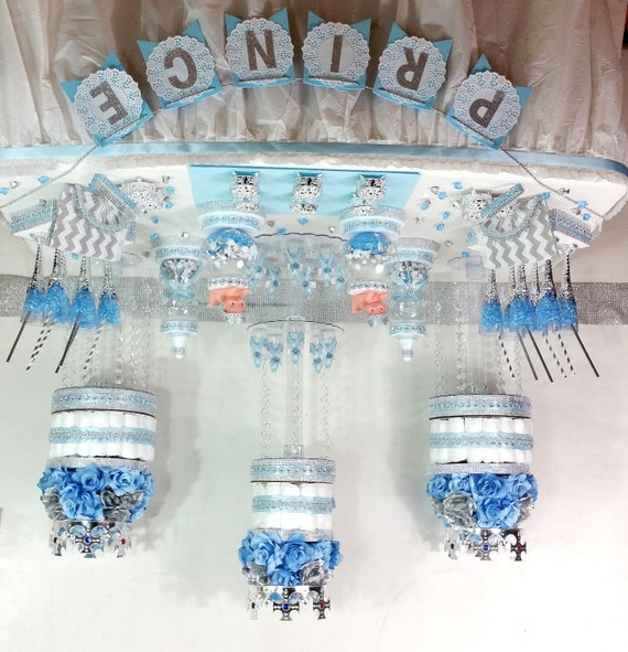 baby blue and silver wedding cakes baby blue and silver buffet cake centerpiece with 10993